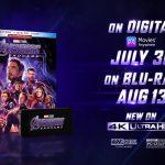 Avengers: Endgame DVD, Blu-ray, 4K Details