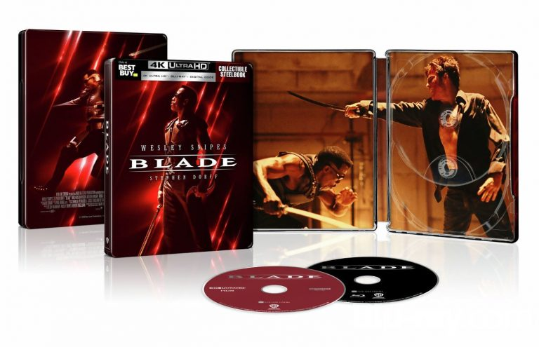 Blade 4K Blu-ray Details & Release Date