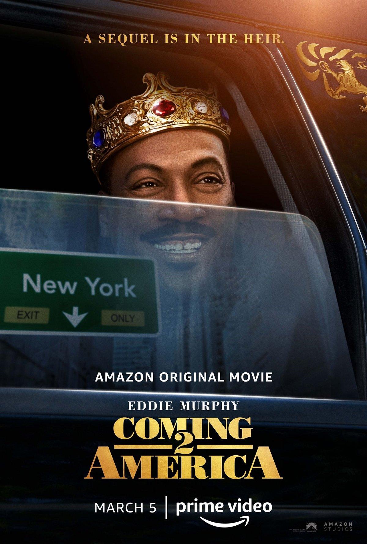 Coming 2 America poster