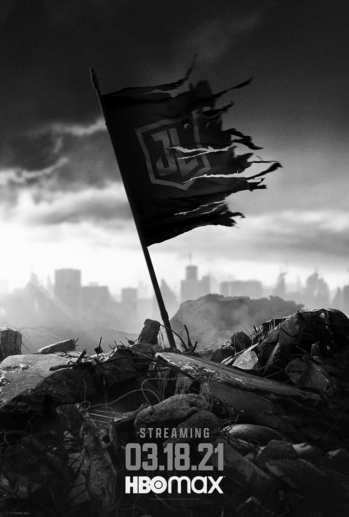 zack snyders justice league poster
