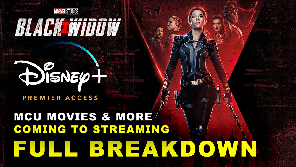 Black Widow, Cruella and More to Debut on Disney Plus