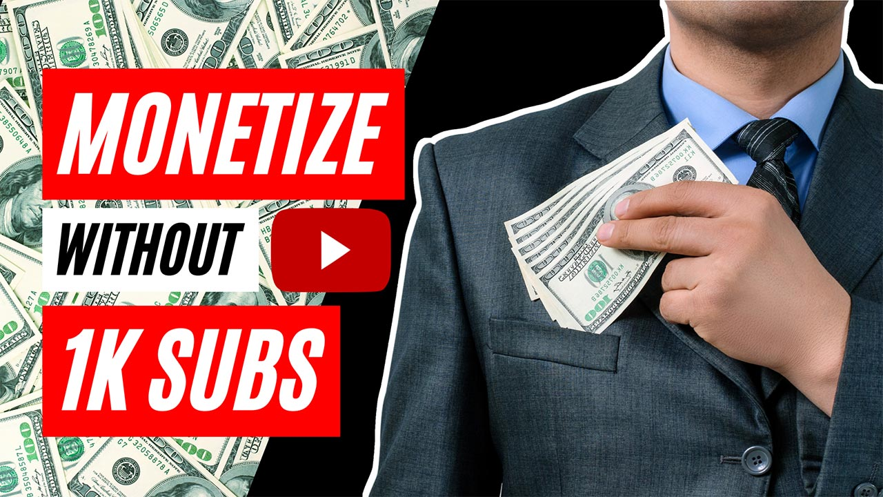 5 Ways to Make Money on YouTube Without 4000 Hours and 1000 Subscribers