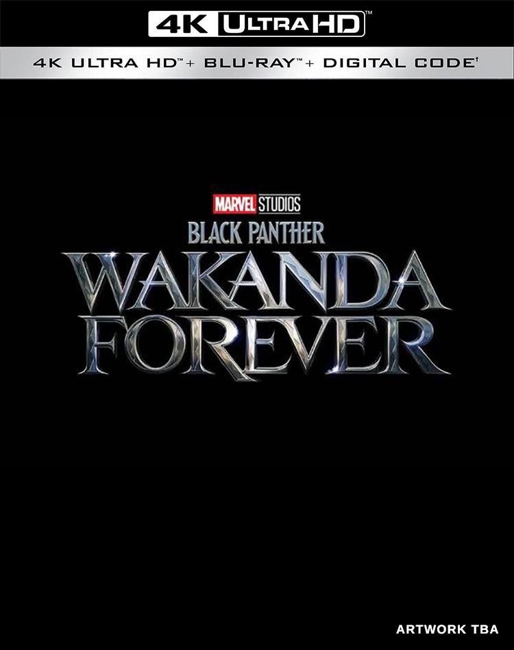 Black Panther: Wakanda Forever 4K Blu-ray